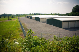 Our North Lima, Ohio Self Storage Facility Buildings